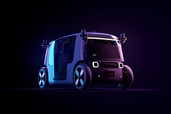 Zoox Vehicle Officially Unveiled image