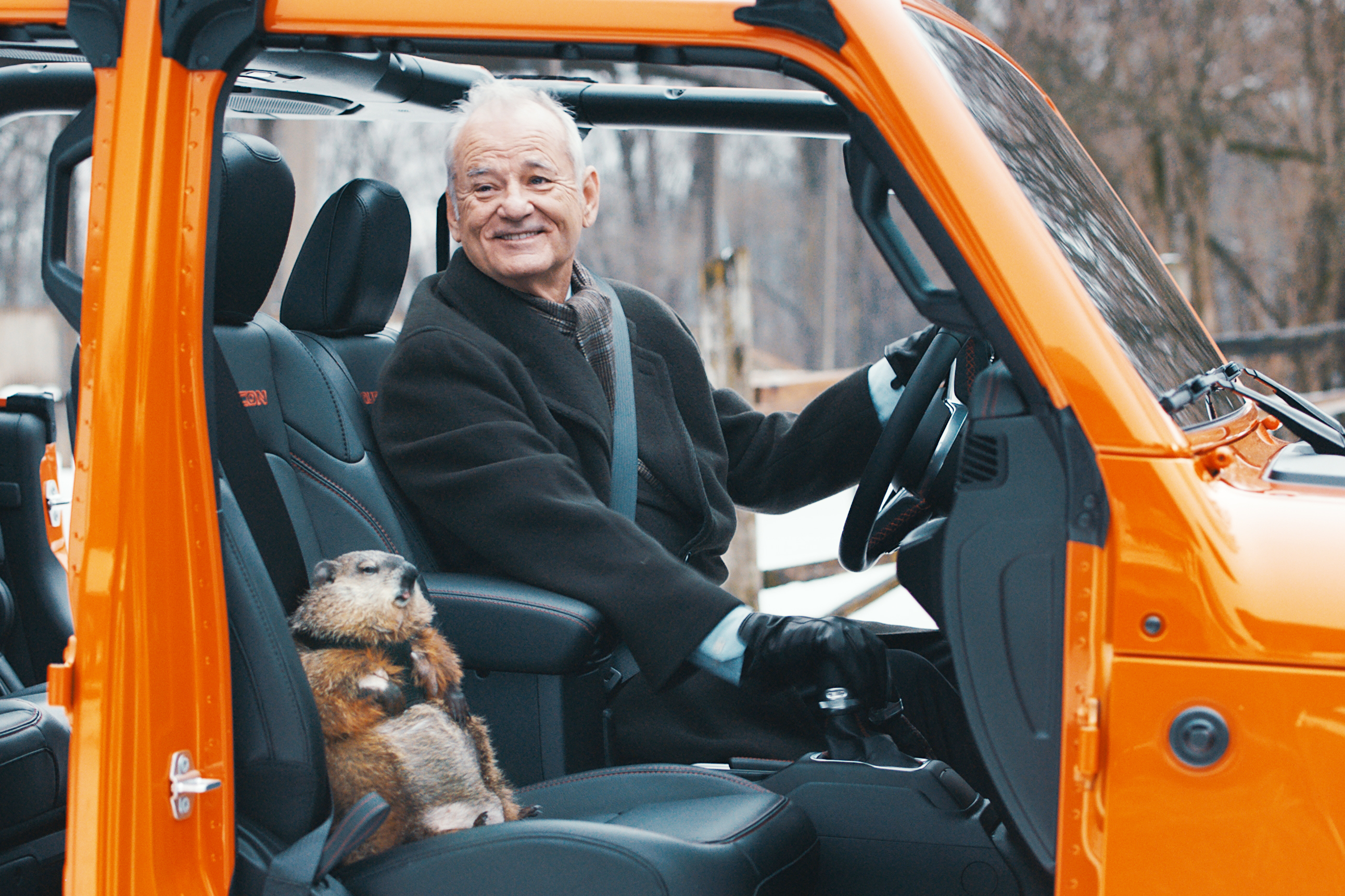 Bill Murray's Super Gladiator—Groundhog Not Included