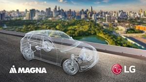 Magna-LG Electronics JV Targets Electrified Powertrains