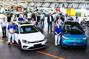 Volkswagen's Zwickau, Germany, plant is transitioning to EV production with the new ID.3 hatchback
