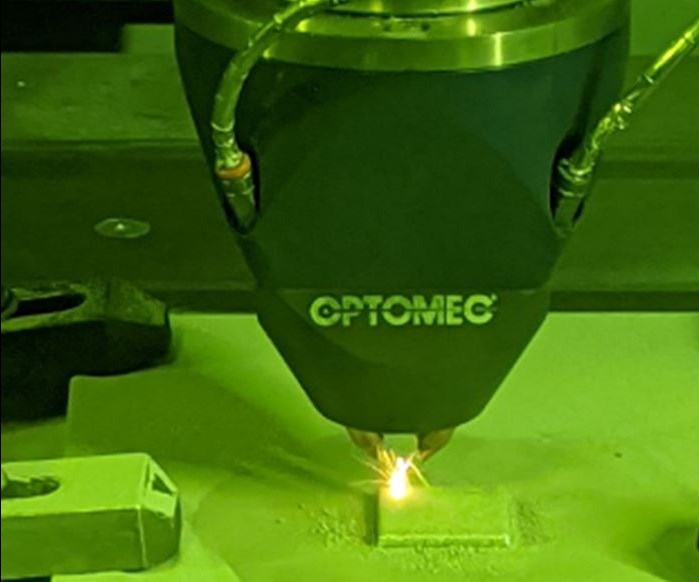 Optomec LENS DED system