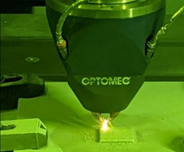Optomec's Aluminum 3D Printing Capability Uses Directed Energy Deposition