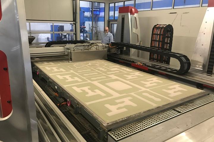 Voxeljet sand 3D printer