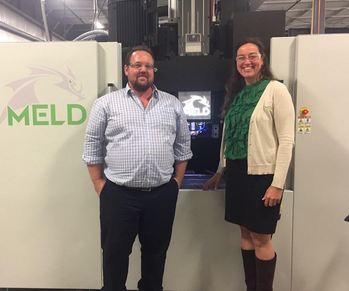 Meld Machine at Deakin University