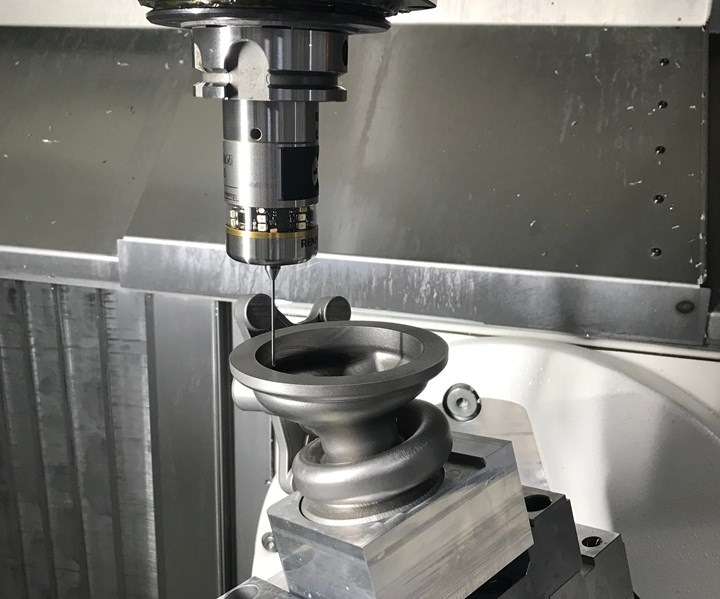 3T-am part set up aided by MSP and Renishaw