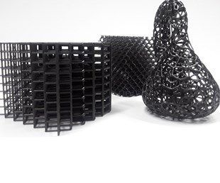parts 3D printed with 3D Systems Figure 4 DLP system