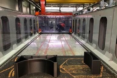 Airtech LS3D printing machine.