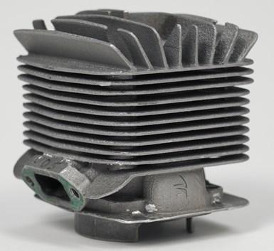 cylinder made via additive manufacturing