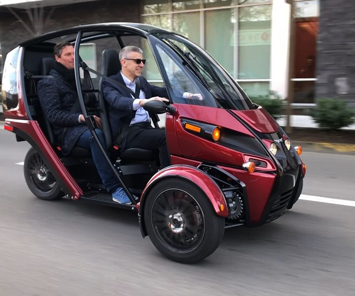 I got to drive the Fun Utility Vehicle (FUV) during my visit to Arcimoto in Eugene, Oregon