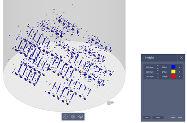 3D model from additive manufacturing build distortion data