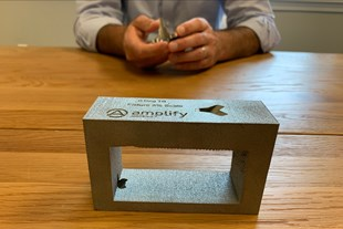 With This 3D Printed Block, EBM Is an Aid to CNC Machining
