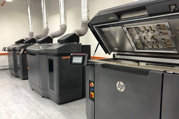 HP multi-jet fusion machines at Jabil
