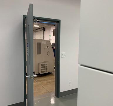 paragon medical door into machine shop