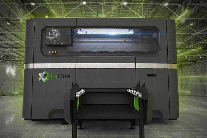 ExOne's Largest Metal Binder Jet 3D Printer