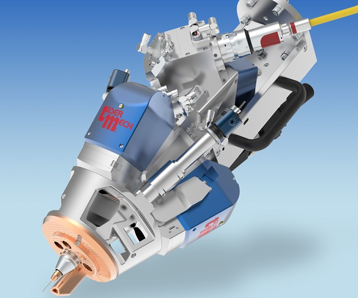 Laser Wire Direct Energy Deposition Head