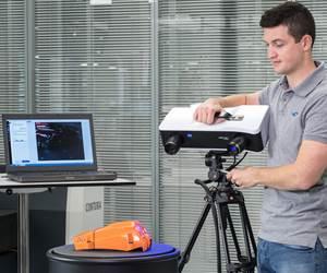 Zeiss Comet Scanner Sensor Delivers Speedy 3D Data Capture