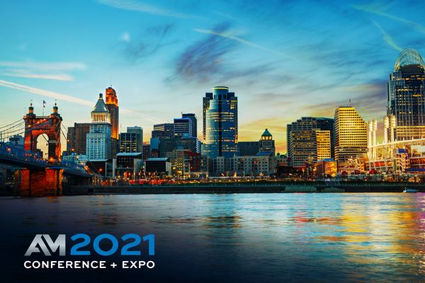 Additive Manufacturing Conference + Expo 2021 Announces Dates, Moves to the Queen City image