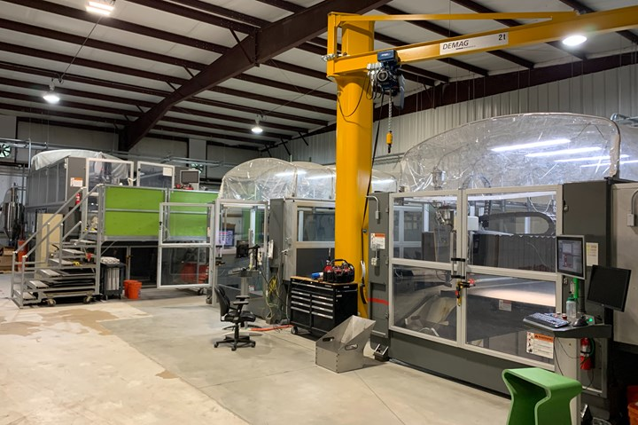 the shop floor at Additive Engineering Solutions