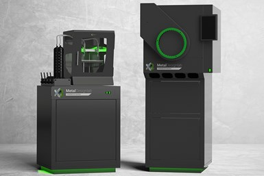 ExOne's Metal Designlab printer and X1F advanced furnace is a complete metal 3D printing system.