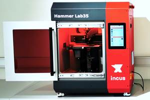 Incus Hammer Lab35 Offers Economic Protoyping, Small-Scale Production
