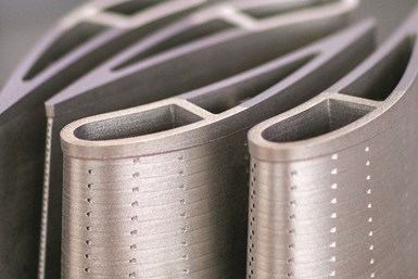 EOS NickelAlloy IN939 opens is well suited for additive manufacturing of industrial gas turbines and other energy industry applications.