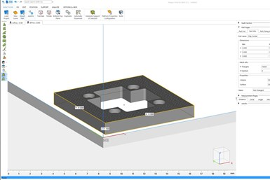 Magics Print for BMF performs all software build preprocessing with one tool