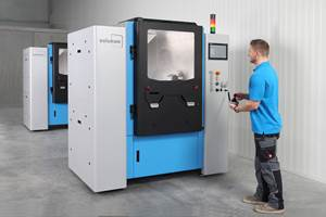 Solukon Upgrades Automated Powder Removal Units for Large Parts