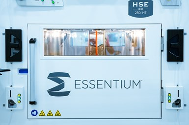 Essentium's High Speed Extrusion (HSE) 280i HT 3D Printer enables manufacturers to reduce the time for reaching industrial-scale production of parts