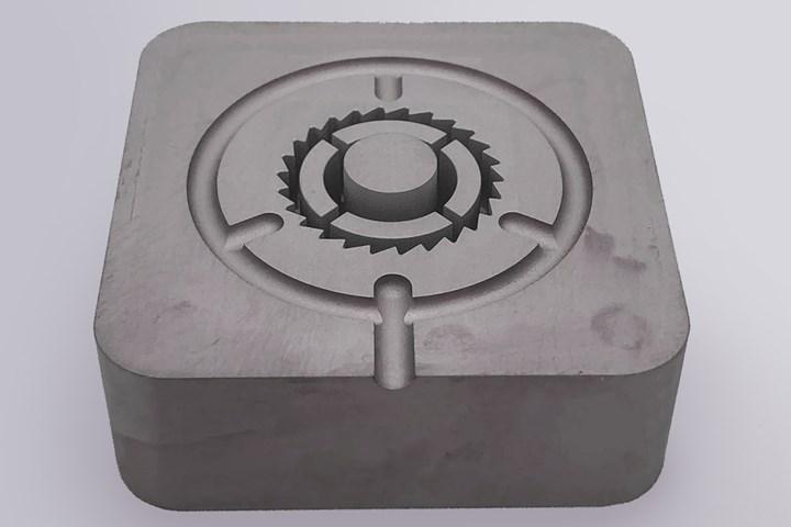 metal 3d printed mold for a medical device