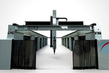 The Bead hybrid machine requires less space and programming than two  separate systems.