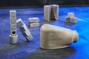 Cummins Finalizes First Metal 3D Printed Production Part