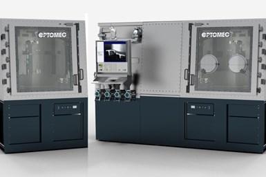 Optomec CS250 and HC-TBR 3D Metal Printers