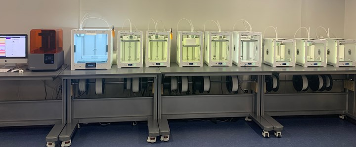 Ultimaker 3D printers in university of texas el paso GAIA makerspace