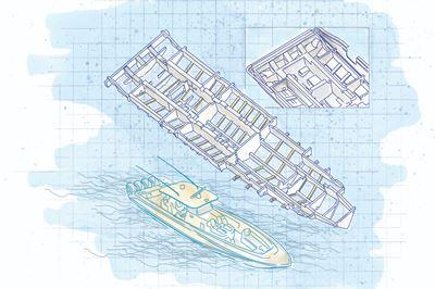 世界上最大的单皮船体中控台