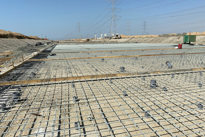 Mateenbar GFRP rebar in Jizan flood mitigation channel