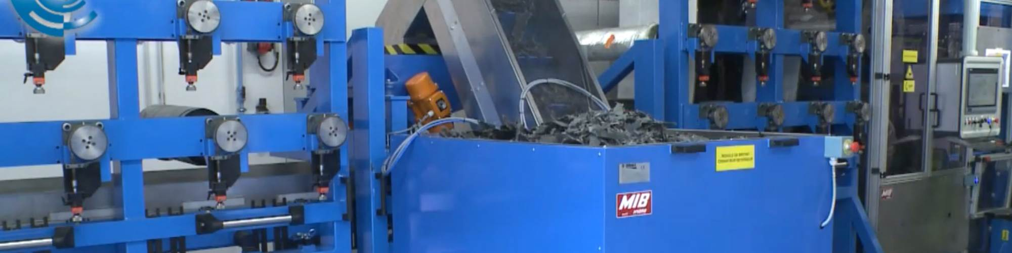 industrialized recycling of composites