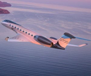 Daher composite-metal winglets enhance performance of new Gulfstream G-700 large-cabin bizjet