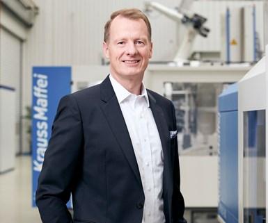KraussMaffei CEO Dr. Ruf