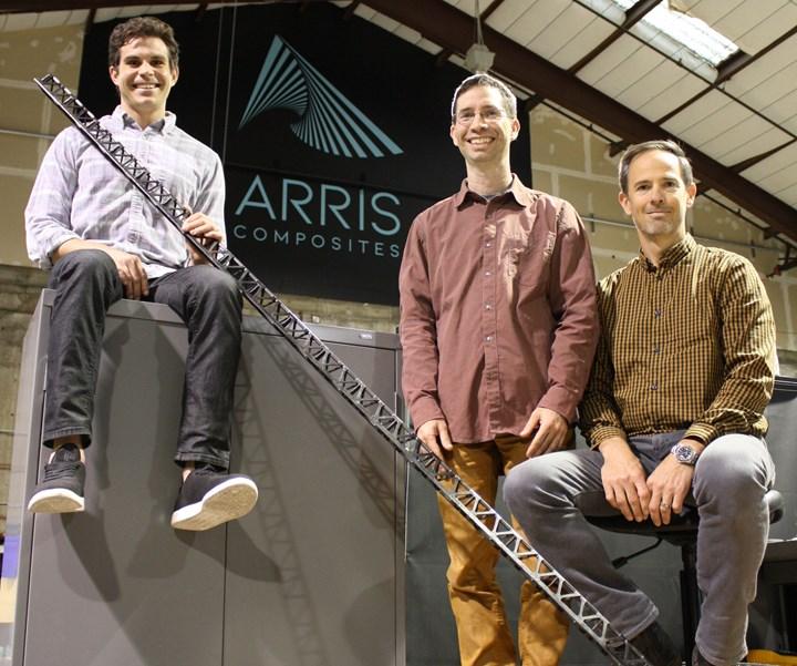Arris Composites carbon fiber additive molding