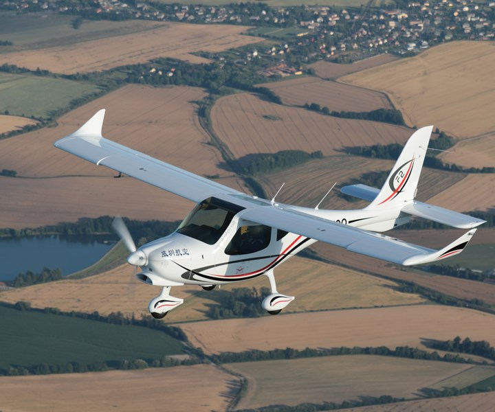 Hexcel carbon fiber prepreg used for small aircraft