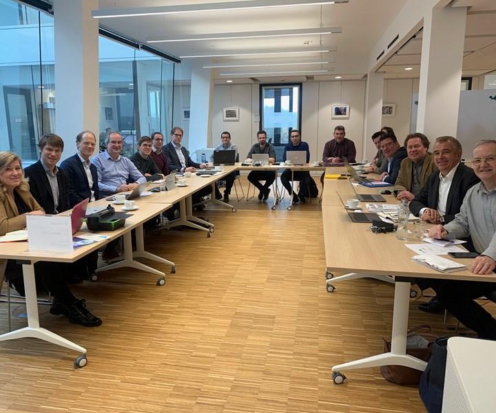 Representatives of the Euregio Meuse-Rhine (EMR) region at the kick-off meeting
