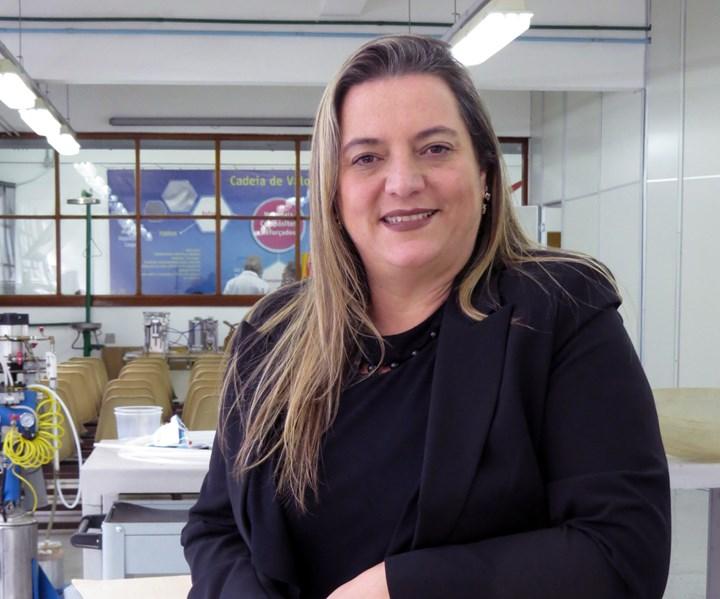 Erika Bernardino Aprá, president of ALMACO
