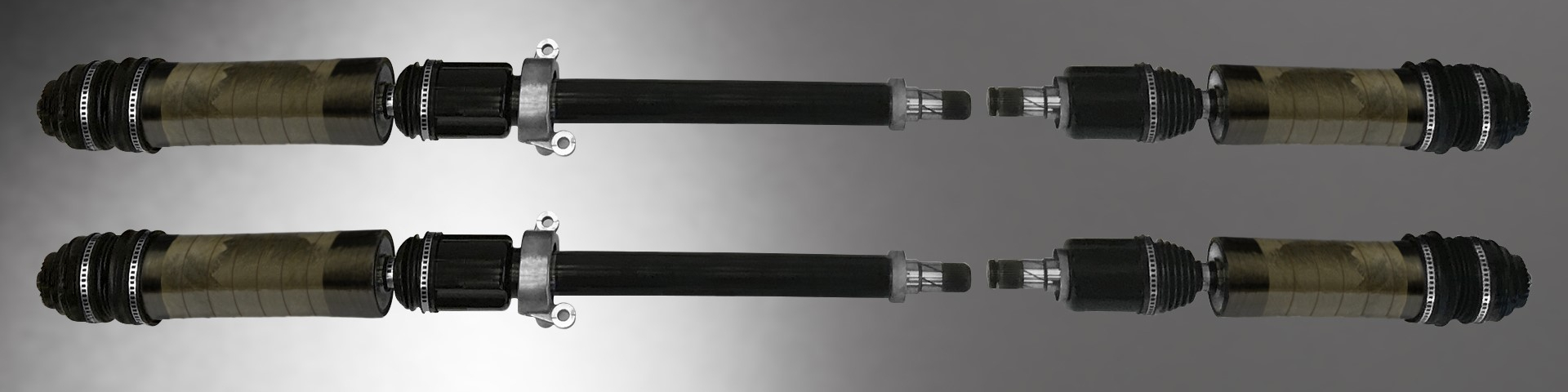 carbon fiber composite output shaft