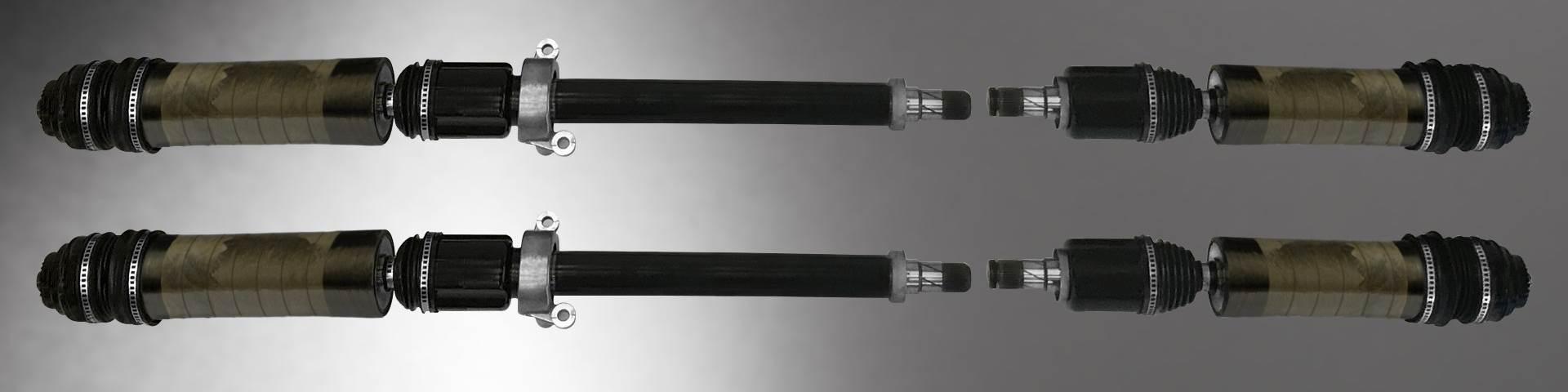 carbon fiber composite output shaft