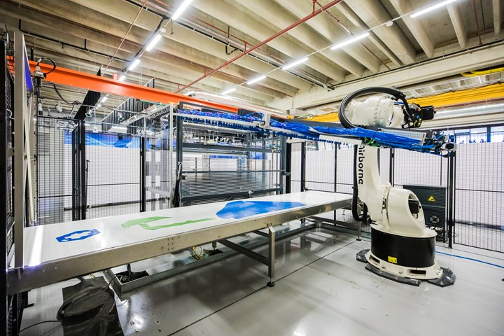 Airborne automated kitting solution