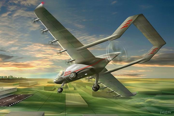 Electric short takeoff & landing aircraft addresses e-commerce needs