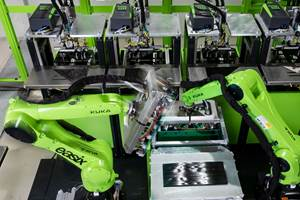 Engel, Fill develop automated cell for thermoplastic composites
