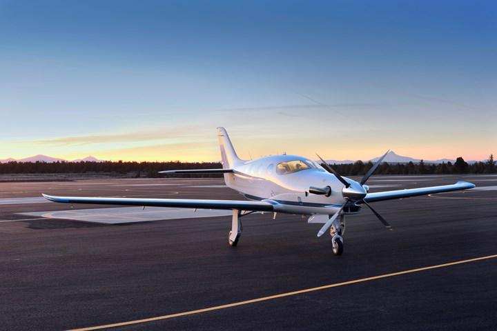 Epic Aircraft E1000 all-composite aircraft