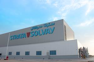 Strata, Solvay joint venture facility completed