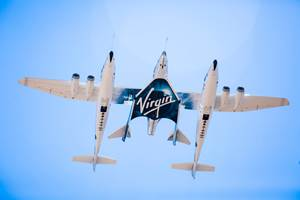 SpaceShipTwo completes second test flight